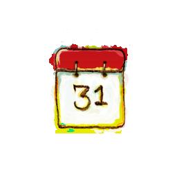 Schedule Calendar Date Icon Free Watercolor Icon Sets Icon Ninja