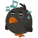 songbird, music, bird icon