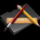 Applications Black icon