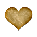 heart, valentine, favorite, love, bookmark icon
