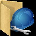 folder tools icon