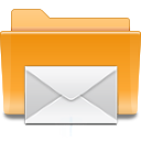 mail, kde, folder icon