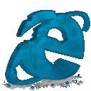 Destroy, Explorer, Ie, Internet icon