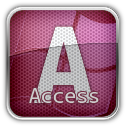Access Ms Icon 1st Mx Is 4c Icon Sets Icon Ninja