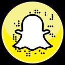 snapchat, media, social icon