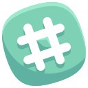tag, social, hashtag, pound, media, network icon