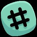 tag, social, hashtag, pound, media, network icon