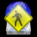 iDisk User christmas light icon