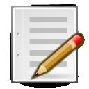 gtk,edit,write icon