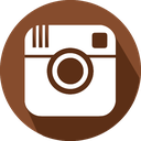 social network, instagram, logo icon