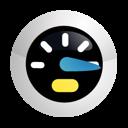 speed, bandwidth, speedometer, performance icon