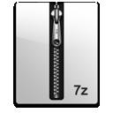 silver, 7z icon