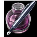 Pink w original pen 128 icon