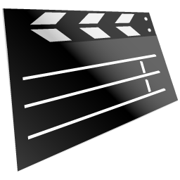 movie, film, video icon