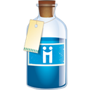 Bottle, Diigo icon
