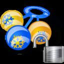 rattle, unlock icon