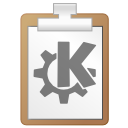 document, paste, paper, file, clipboard, klipper icon