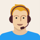 headset, person, man, avatar, support, male, young icon
