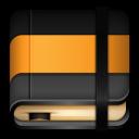 Moleskine Orange Book icon