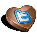 Chokolate, Twitter icon