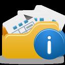 Folder, Info, Open icon