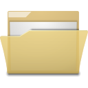 manilla, folder icon