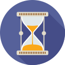 loading, clock, watch, hourglass, time icon