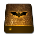 drive, texture, bat, orange icon