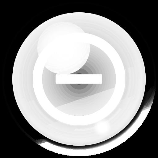 bubble, stop, cancel, no icon