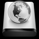 idisk, public, network icon