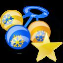 fav, rattle icon