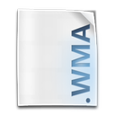 wma, media, windows, audio, file icon