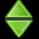 sort,neutral,green icon