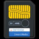 Devices media flash smart media icon