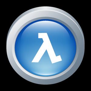 badge, half, life, blue, shift icon
