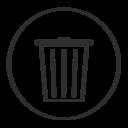 trash,empty icon
