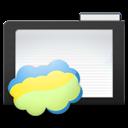 Dark, Folder, Nimbus icon