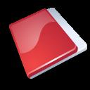 Close, Folder, Red icon