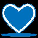 blue heart icon