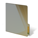 brown,closed,folder icon