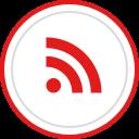rss, brand, logo, social, media icon