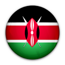 of, flag, kenya icon
