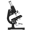 science, microscope, biology icon
