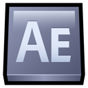 after, adobe, effects icon