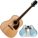 guitar,search,instrument icon