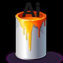 Ai, Bucket, Paint icon