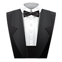 suit, assistant, butler icon