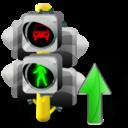 Lights, Traffic, Up icon