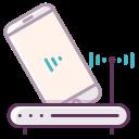appliance, electronics, electronic, network, device, technology, wi-fi icon