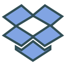storage, brand, drive, share, dropbox icon
